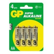 Батарейки GP AA 4 шт. 15A-UE4