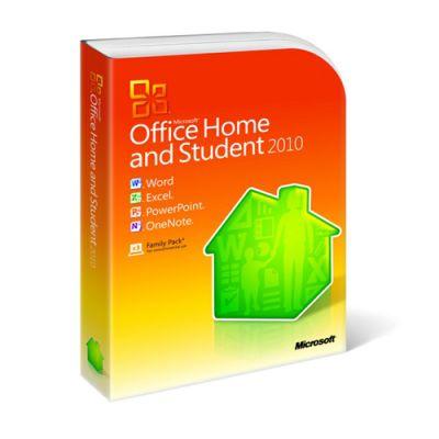 Программное обеспечение Microsoft Office Home and Student 2010 Win 32-bit/x64 Rus 79G-02142
