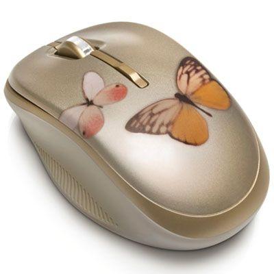 Мышь беспроводная HP 2.4G дизайна Vivienne Tam в стиле Butterfly Lovers WJ161AA