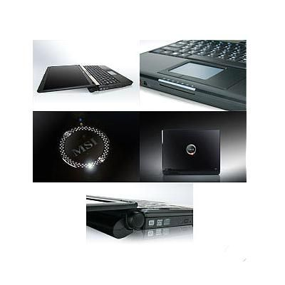Ноутбук MSI S300-007 with Swarovski Crystal