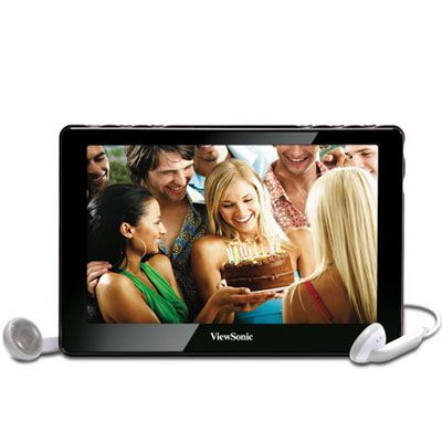 "Медиаплеер ViewSonic Personal Media Player 4.3"" VPD400-508P"