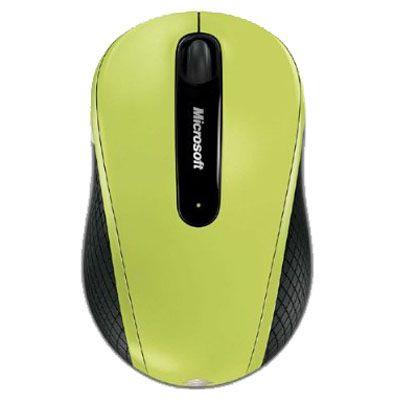���� ������������ Microsoft Wireless Mobile 4000 USB Green D5D-00035