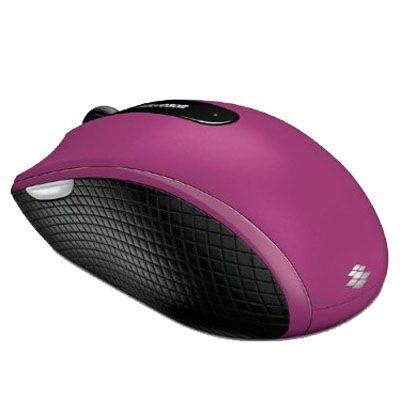 Мышь беспроводная Microsoft Wireless Mobile 4000 USB Pink D5D-00023