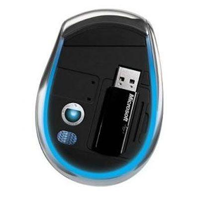 Мышь беспроводная Microsoft Explorer Mini USB 5BA-00006
