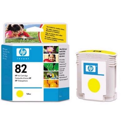 Картридж HP 82 Yellow/Желтый (C4913A)