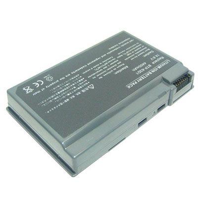 Аккумулятор TopON для Acer Aspire, TravelMate Series 4800mAh TOP-63D1 / lc.BTP01.005