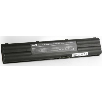 Аккумулятор TopON для Asus A3 A3000G A6Vm A6Vc A6Rp A6T A6Va A6Jm A6000L A6000R A6000N A7 G1 G2 Z91N Z92J Z9100 Series 4400mAh TOP-A3 / A42-A3