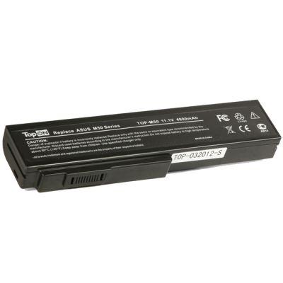Аккумулятор TopON для Asus M50, M51, M60, G50, G51, G60, VX5, L50, X55, X57 Series 4400mAh TOP-M50 / A32-M50