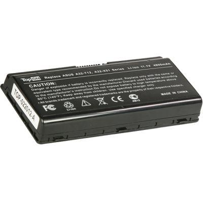 Аккумулятор TopON для Asus X51H X51RL T12C T12Er T12Jg T12Ug T12Fg T12Mg X85L Series 4400mAh TOP-X51 / A32-T12