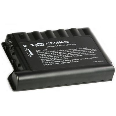 Аккумулятор TopON для HP Compaq evo N600, N610C, N610V, N620C 4800mAh TOP-N600