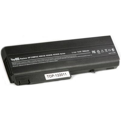 Аккумулятор TopON для HP Compaq nx6120 nc6400 nx5100 nc6100 nc6200 nx6130 nx6300 Series 4400mAh TOP-NX6120 / PB994