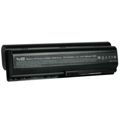 Аккумулятор TopON для HP Pavilion Dv2000 Dv6000 Presario V3000 V6000 8800mAh TOP-DV2000H