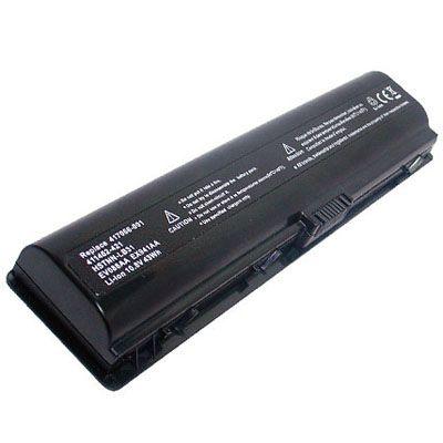 Аккумулятор TopON для HP Pavilion Dv2000, Dv6000, Presario V3000, V6000 4800mAh D-DST86