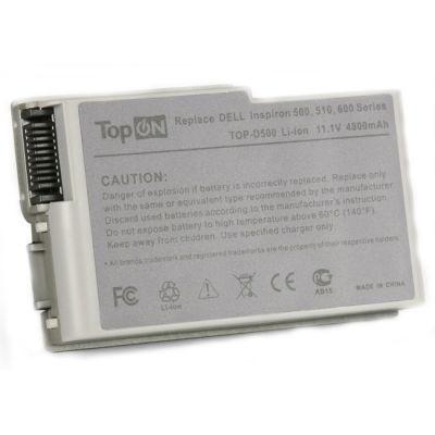 ����������� TopON ��� Dell Inspiron 500m 510m Latitude D500 D505 D510 D520 D600 D610 Series 4800mAh TOP-D500/315-0084