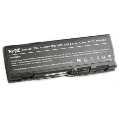 Аккумулятор TopON для Dell Inspiron 6000 9200 E1705 XPS Gen 2 XPS M1710 Precision M90 Series 4800mAh TOP-D9200 / U4873