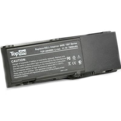 Аккумулятор TopON для Dell Inspiron 6400 1501 E1505 Vostro 1000 Latitude 131L 6600mAh TOP-D6400H / KD476