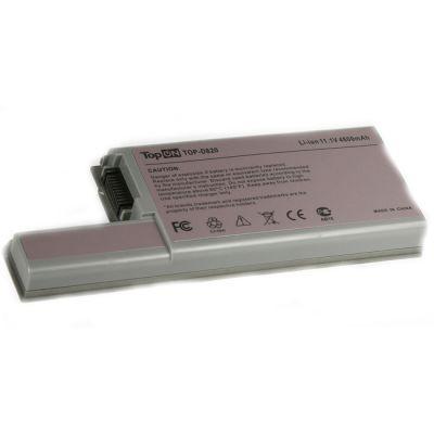 Аккумулятор TopON для Dell Latitude D820, D830, D531, Precision M4300, M65 Series 4800mAh TOP-D820