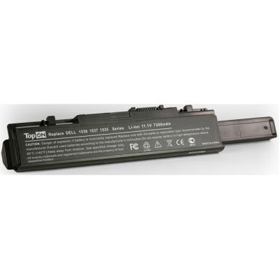 Аккумулятор TopON для Dell Studio 1535 1536 1537 1555 1557 1558 Series 7200mAh TOP-1535H