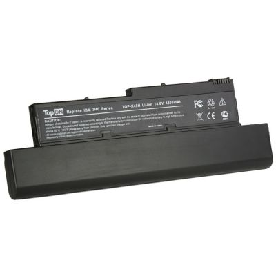 ����������� TopON ��� Lenovo ThinkPad X40 X41 Series 4800 mAh TOP-X40H / 92P1000