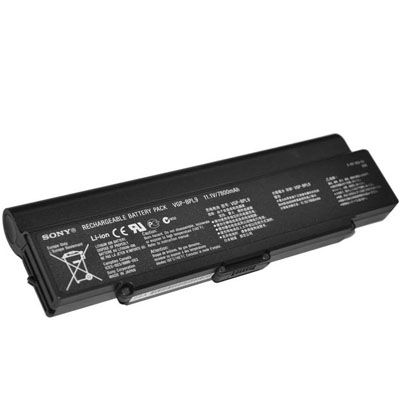 Аккумулятор TopON для Sony VAIO VGN-CR VGN-AR VGN-NR VGN-SZ5 VGN-SZ6 Series 7200mAh TOP-BPL9 / VGP-BPL9