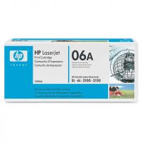 Картридж HP Color LaserJet Black (черный) C3906A