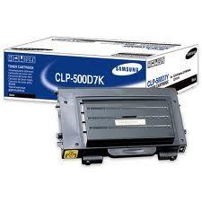 Расходный материал Samsung Картридж ( black / черный ) CLP-500D7K