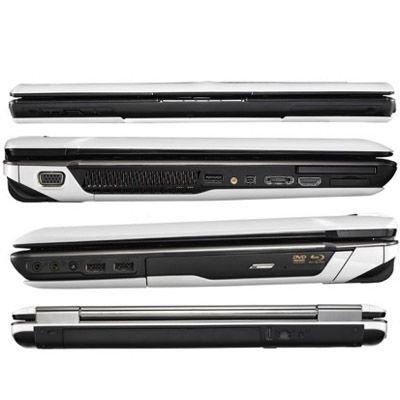 Ноутбук ASUS Lamborghini VX5 Windows 7 White