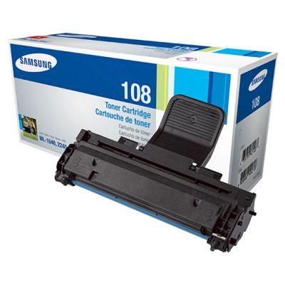 Тонер-картридж Samsung Black/Черный (MLT-D108S/SEE)