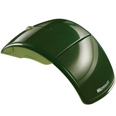 Мышь беспроводная Microsoft Arc Mac/Win Green USB ZJA-00040