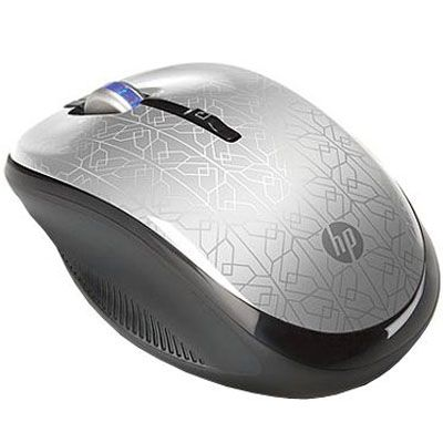 ���� ������������ HP 2.4GHz Wireless Optical Mouse Silver WE790AA