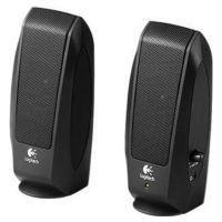 Колонки Logitech S120 Black 2.0 Speaker System 980-000010