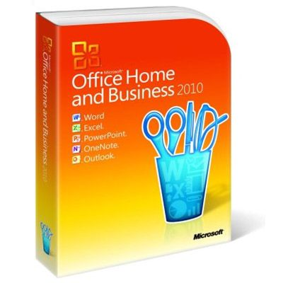 Программное обеспечение Microsoft Office Home and Business 2010 32-bit/x64 Russian Russia DVD T5D-00415