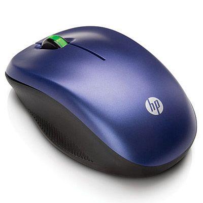 Мышь беспроводная HP оптическая (Blue) WE789AA
