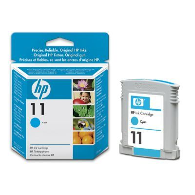 Картридж HP 11 Cyan/Голубой (C4836A)