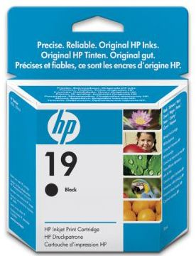 Расходный материал HP 19 Black Inkjet Print Cartridge C6628AE