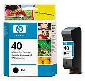 ��������� �������� HP 40 Black Inkjet Print Cartridge 51640AE