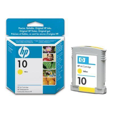 Расходный материал HP 10 Yellow Ink Cartridge C4842AE