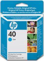 Расходный материал HP 40 Cyan Inkjet Print Cartridge 51640CE