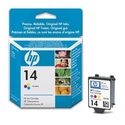 Расходный материал HP 14 Tri-colour Ink Cartridge C5010DE