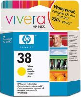 HP 38 Yellow Ink Cartridge C9417A