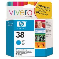 HP 38 Cyan Ink Cartridge C9415A