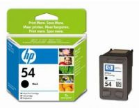 HP 54 Black Inkjet Print Cartridge CB334AE