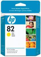 Картридж HP 82 Yellow/Желтый (CH568A)