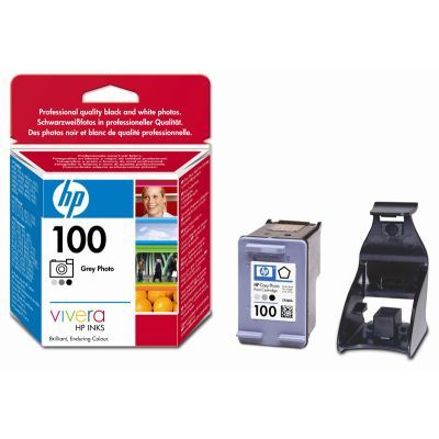 Расходный материал HP 100 Grey Photo Inkjet Print Cartridge C9368AE