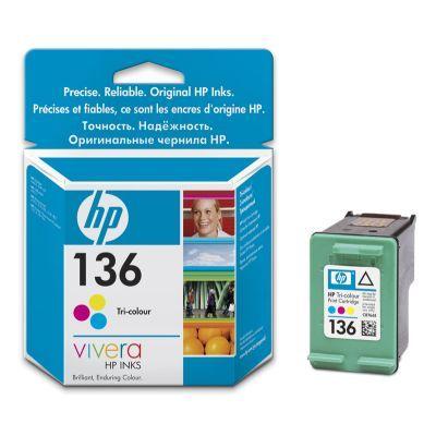 ��������� �������� HP 136 Tri-colour Inkjet Print Cartridge C9361HE