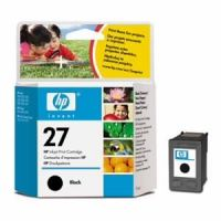 HP 27 Black Inkjet Print Cartridge C8727AE