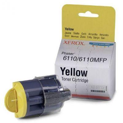 Тонер-картридж Xerox 6110/6110MFP Yellow/Желтый (106R01204)