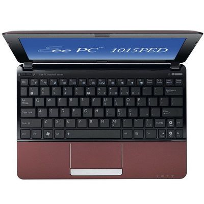 Ноутбук ASUS EEE PC 1015PED Windows 7 (Red)