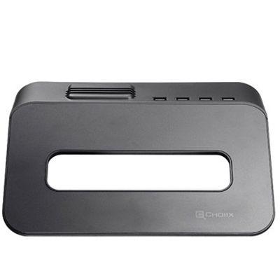 Охлаждающая подставка Cooler Master NotePal Choiix mini Air Through Black C-HL02-KP