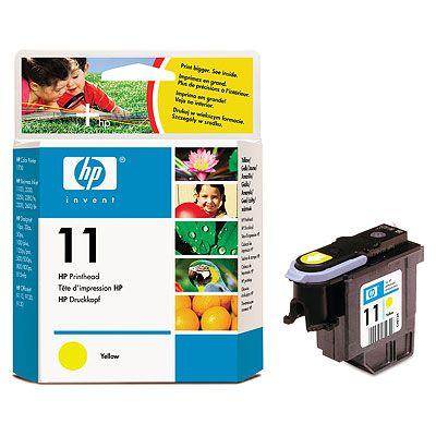 Печатающая головка HP 11 Yellow/Желтый (C4813A)
